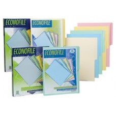 FOLDER CARTA ECONOFILE AZUL PTE. C/25 PZAS.