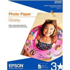 PAPEL EPSON 8.5X11 FOTOGRAFICO C/20H S041141